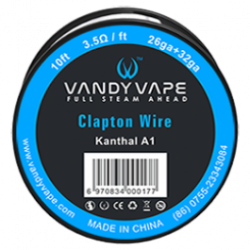 Resistive wire Fused Clapton wire 26 + 32 Ga Vandy Vape 3m