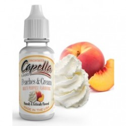 Aroma Concentrated Peaches and Cream Capella 13 ml