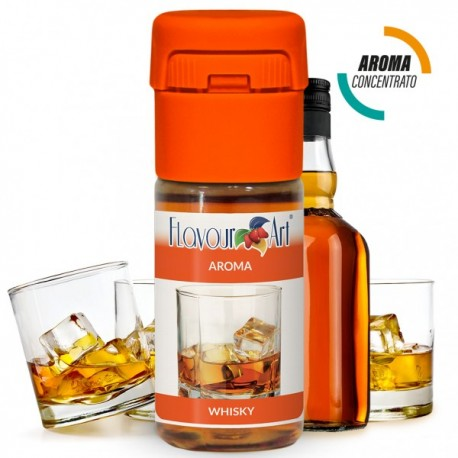 Aroma Concentrato Flavourart Whisky 10 Ml