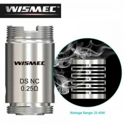 Head Coil DS NC 0.25 ohm for Wismec MOTIV