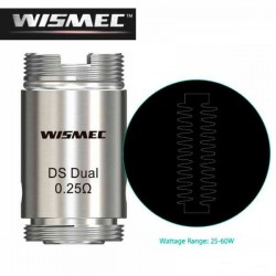 Head Coil DS Dual 0.25 ohm for Wismec MOTIV